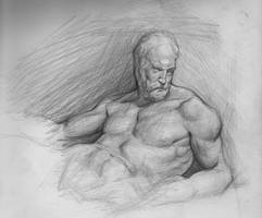 Pencil Study 5 by SalvadorTrakal