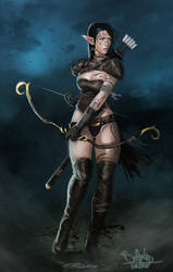 Elf Rogue by SalvadorTrakal