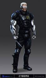 Cyntopia - Cyborg Concept Art by SalvadorTrakal