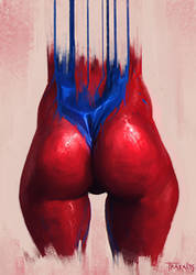 Red-Blue II by SalvadorTrakal