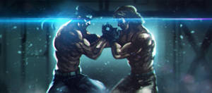 Twins by SalvadorTrakal