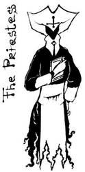 the Priestess by Mocker-kun