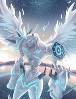 Omegamon Merciful Mode by Sartika3091