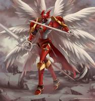 Dukemon Crimson Mode by Sartika3091