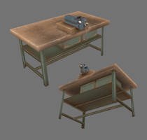 vise and workbench by ToTac