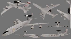 Boeing E-3 Sentry 'AWACS' by ToTac