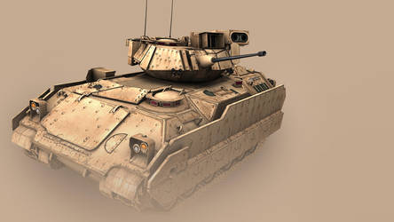 M2 Bradley Render Wallpaper by ToTac