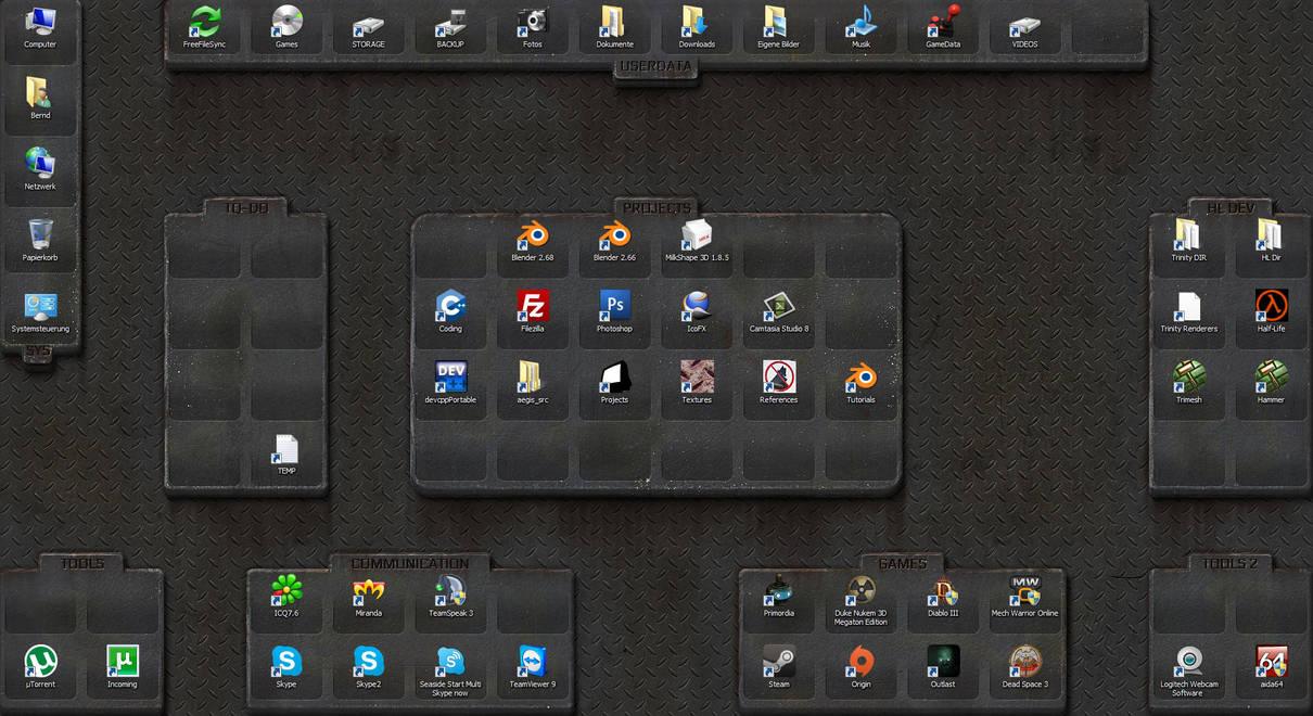 Custom Desktop Background by ToTac