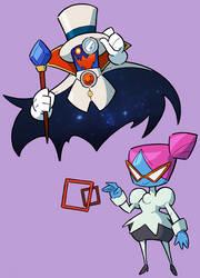 Super OTPaper Mario by Shenaniganza
