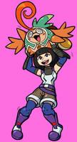 Lin and Tatsu by Shenaniganza