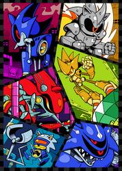 Metal Sonic Mania by Shenaniganza