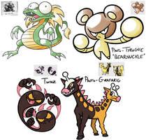Prototype Pokemon by Shenaniganza