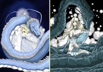 Dragongirl new by Mangakalisel