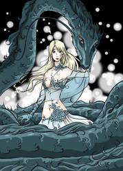 Dragongirl by Mangakalisel