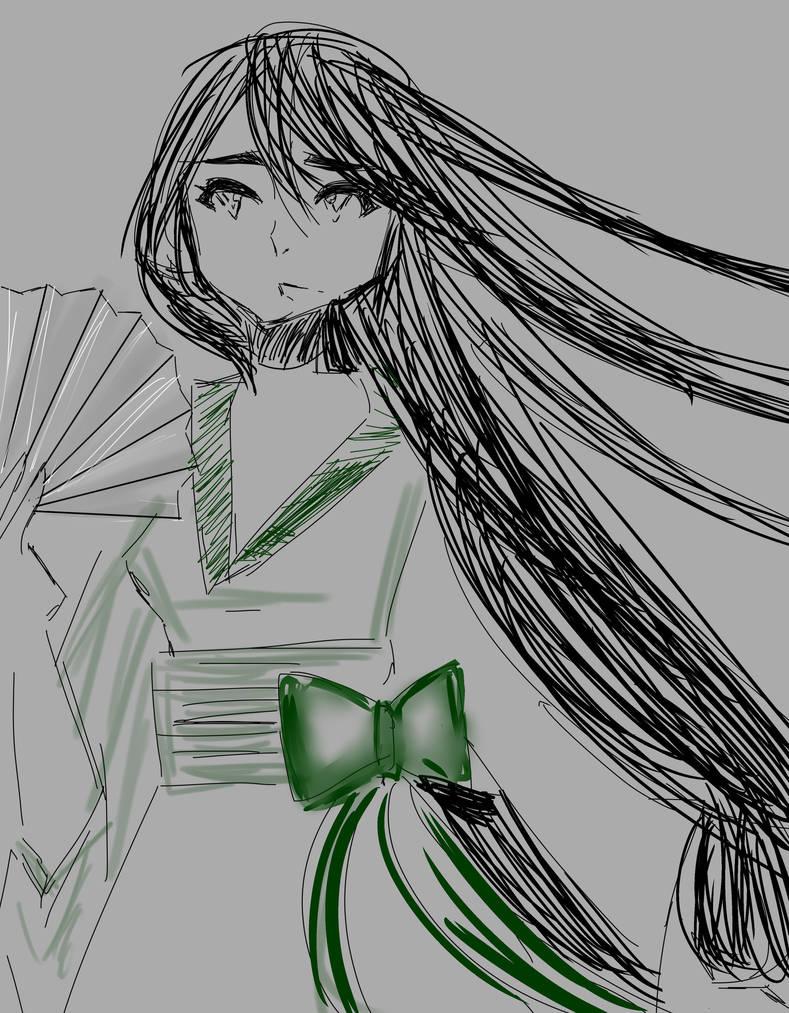 Anime Pose 1468 by shiv0611