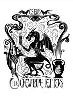 The Screwtape Letters BW by McJade