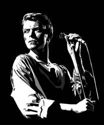 David Bowie by McJade