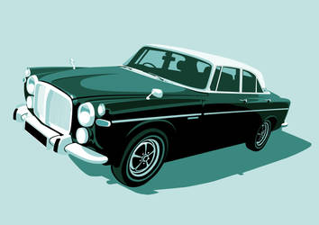 Rover P5B Teal by McJade