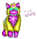 Julie the cat by mysticmagicmanson999