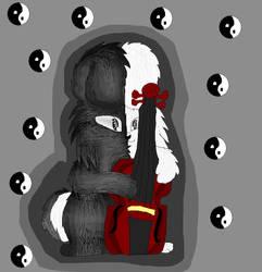 Mosha the rabbit by mysticmagicmanson999