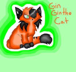For GinGin the cat by mysticmagicmanson999