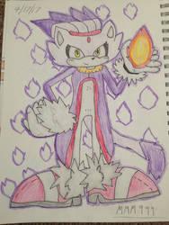 Blaze the cat by mysticmagicmanson999