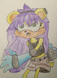 Mina the mongoose by mysticmagicmanson999