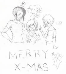 Merry X-Mas Contest Entry by Panda92