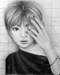 Ayumi Hamasaki Drawing by SilenceInSilver