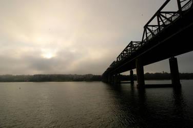 drummoyne bridge again by secret-luck-stock