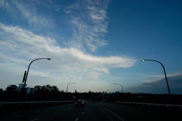 bridge and sky by secret-luck-stock