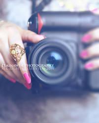 I take photographs with love . by ElAinawya
