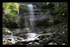 Smoky Mtns - Rainbow Falls II by ransim