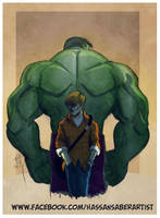 Hulk by scarecrowhassan