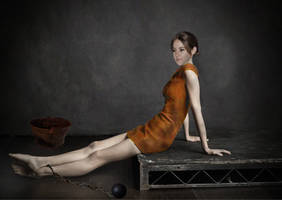 Shailene Woodley - In jail by filo85