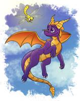 Spyro by savagefuryx