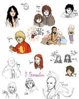 GoT Sketchdump by ShamsArts