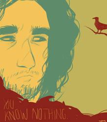 Jon Snow - Palette Challenge by ShamsArts