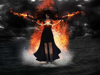 Woman of the Flame by ellttamie
