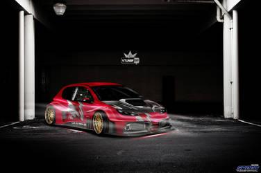 206 tuning fosco by Bruno--Design-2009