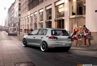 VW golf euro style by Bruno--Design-2009