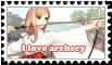 Stamp I Love Archery by D-Flourite