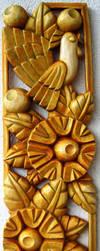 Komposition in gold by Marangoza