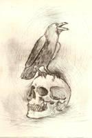 grrr my skull by angel-girl1
