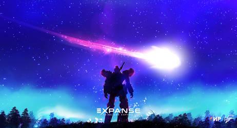 Gundam Expanse by IvayloPetrov