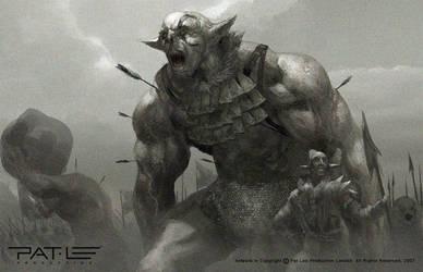 Orc Raid by PatLeeArt