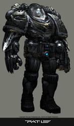 Captain Grey Skull by PatLeeArt