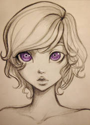 Lila sketch by HannakiDesign