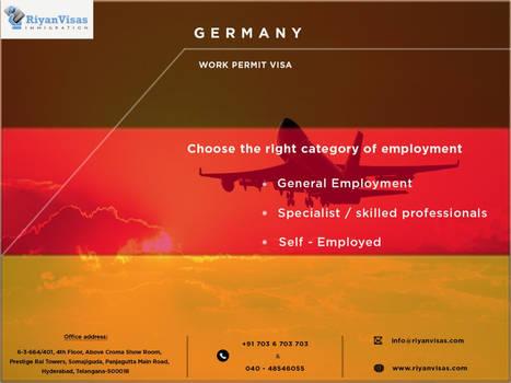 Germany pr visa in hyderabad by riyanoverseas