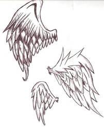 Angel Wings by xxxemocuppycake13xxx